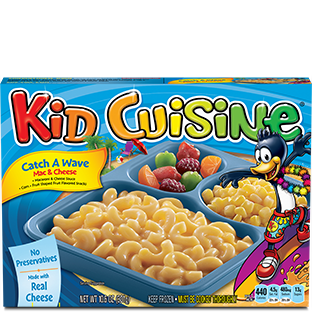 Frozen meal products kid cuisine for Are kid cuisine meals healthy